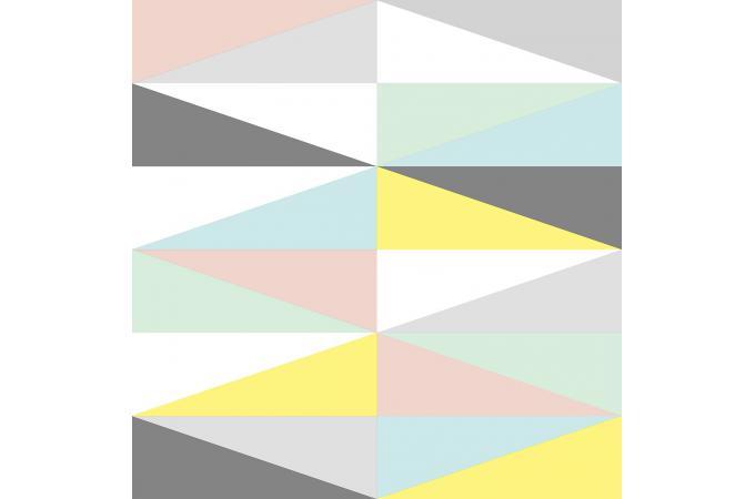 Papier Peint Graphic Triangle