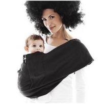 Wallaboo - Echarpe de portage Sling noir - pas cher Achat   Vente Porte- bébés - RueDuCommerce e8dce1904c8