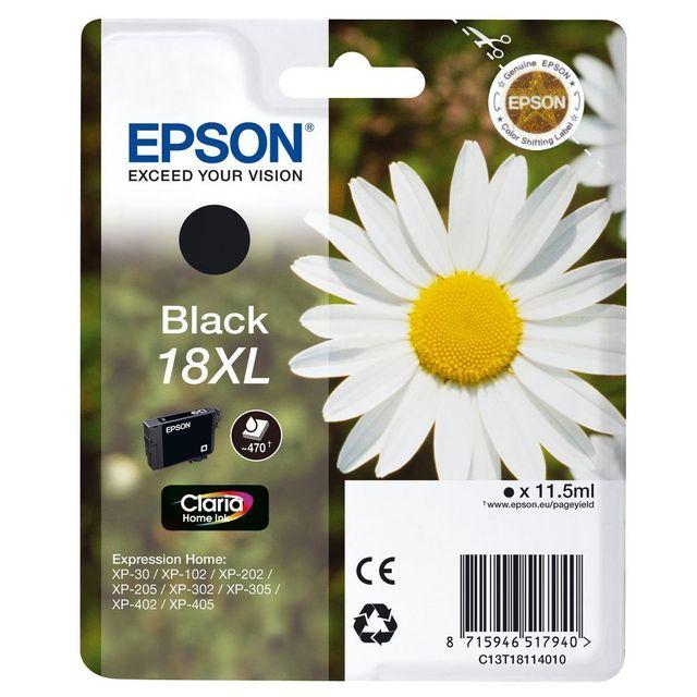 EPSON Cartouche d'encre Noir - T18114010