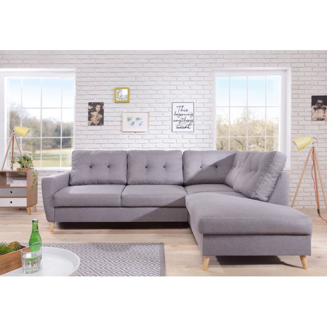bobochic - canap u00e9 scandi - 6 places - convertible