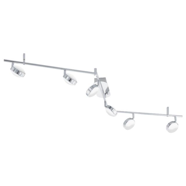 Eglo Barre de spots orientable Salto Led L159,5 cm - Chrome