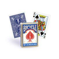 Bicycle - Cartes poker Standard bleu