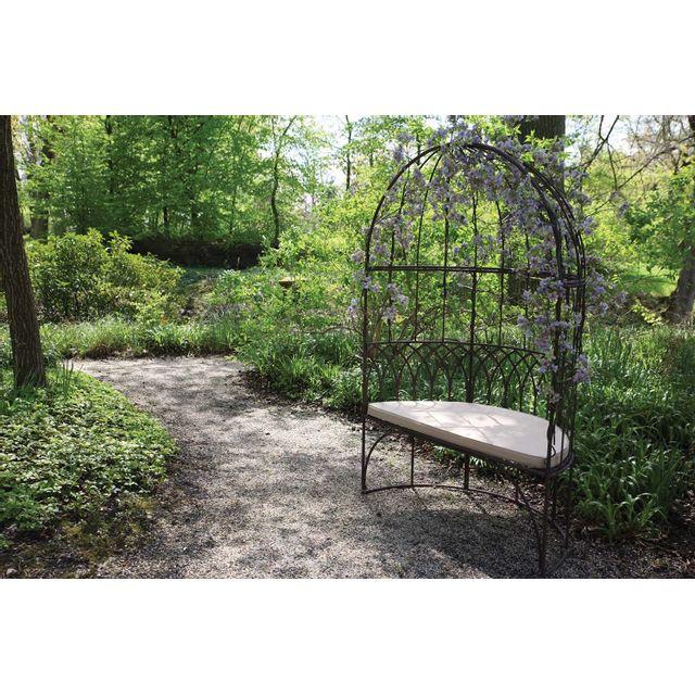 ESSCHERT DESIGN Banc de jardin en métal Belvédère