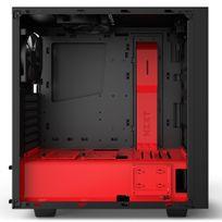 NZXT - Boitier PC ATX S340 Elite Noir / Rouge