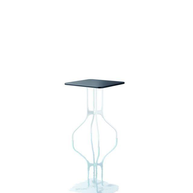 Magis Table Mila - 55 x 55 cm - noir Hpl - blanc