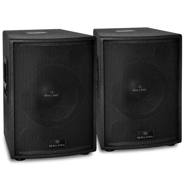 ELECTRONIC STAR Malone Set d'enceintes actives sono subwoofer 30cm 3000W