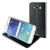 Muvit - Etui Folio Stand Noir Pour Samsung Galaxy J7 2016