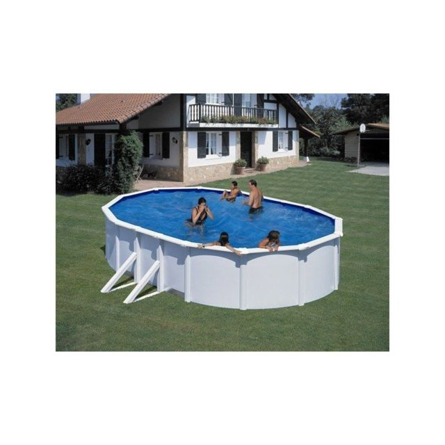 Gre pools kit piscine hors sol acier ovale fidji avec - Piscine hors sol acier pas cher ...