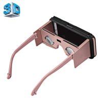 Wewoo - Casque Vr or pour iPhone 6 et 6s lunettes de réalité virtuelle 3D  vidéo 5f958988c185