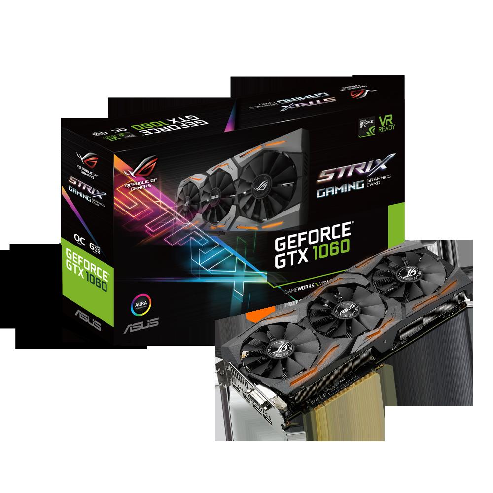 GeForce GTX 1060 Strix Gaming OC 6 Go