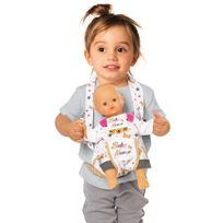 Smoby Toys - Baby Nurse - Sac porte bébé - 220309