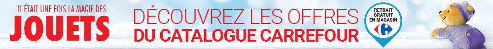 Découvrez tous les jouets du catalogue Carrefour