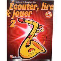 Dehaske - Ecouter, lire et jouer Saxophone alto Vol.2 +CD