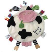 Label Label - Label-Label - friends doudou Vache peluche Blanc