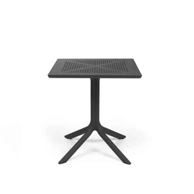 Table basse de jardin de forme carré 70cm