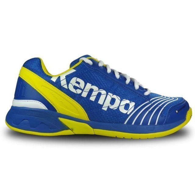Kempa Chaussure de hand ball attack three bleu roiblaz