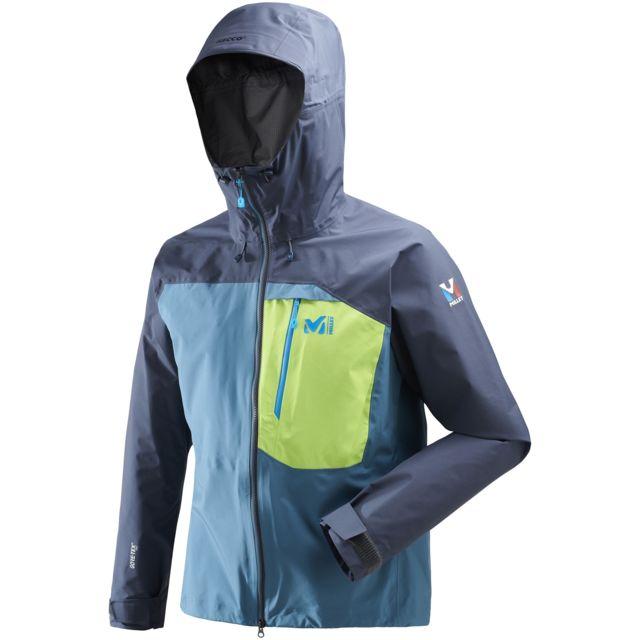 One Tex Pas Millet D'alpinisme Pro Veste Bleu Gore Trilogy Homme tXTUqRnTWw