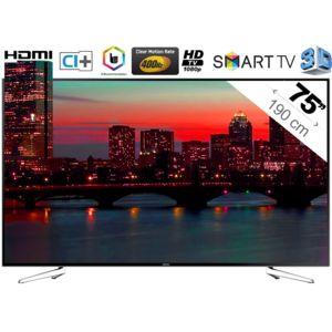 samsung ue75h6400 pas cher achat vente tv led de 50 39 39 et plus full hd rueducommerce. Black Bedroom Furniture Sets. Home Design Ideas
