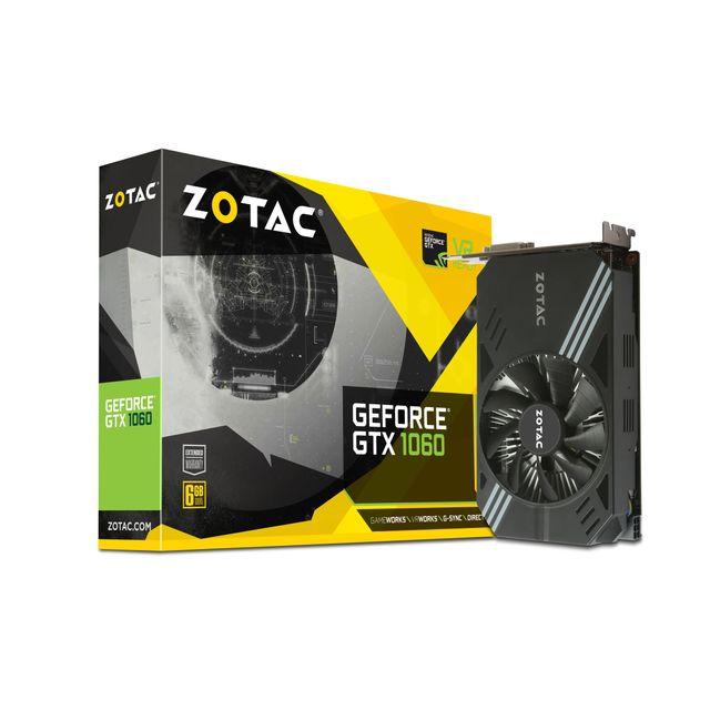 ZOTAC - GeForce GTX 1060 6 Go