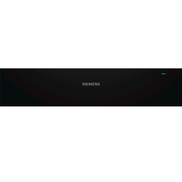 SIEMENS tiroir chauffant 14cm noir/inox - bi510cnr0