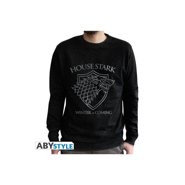 Abystyle Game Of Thrones - Sweat Stark homme black