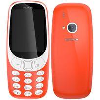 NOKIA - 3310 - Double SIM - Rouge