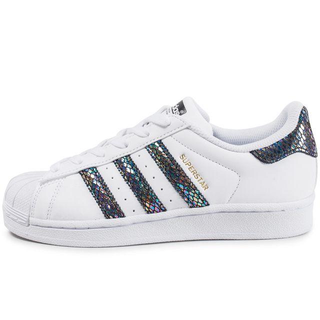 Adidas originals - Superstar Metallic Snake Junior 38 2/3 - pas cher Achat  / Vente Baskets enfant - RueDuCommerce