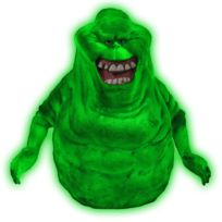 Ghostbusters - Sos Fantômes - Tirelire Glow-In-The-Dark Slimer 20 cm