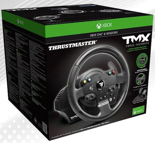 thrustmaster volant tmx force feedback pas cher achat vente autres accessoires xbox one. Black Bedroom Furniture Sets. Home Design Ideas