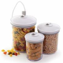 FOODSAVER - lot de 3 boîtes alimentaires pour appareil sous vide v3040 - fsc003-i
