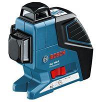 Bosch - Laser 3 croix 360° GLL 3-80 livré en coffret L-BOXX + BM1 0601063309