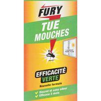 Fury - Mouches Adhésif mouche Etui de 4