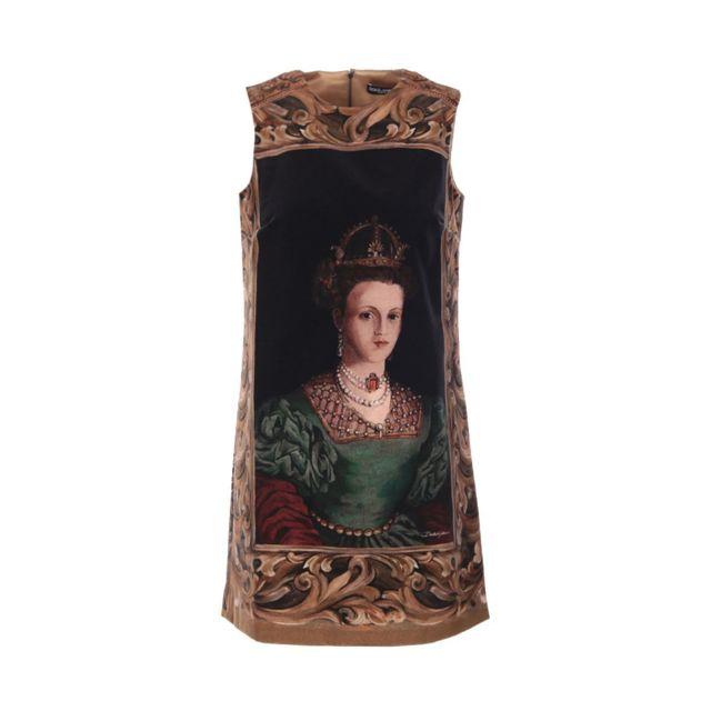 DOLCE & GABANNA Dolce E Gabbana Femme F6E8CTGDO31HH11A Multicolore Coton Robe