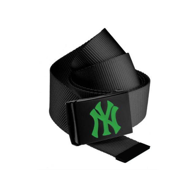 Masterdis - Ceinture New York Yankees Mlb Noir Ny Vert Kelly Belt ... f35f098c5a5