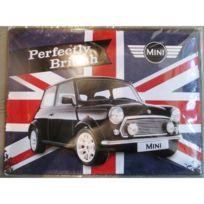 Bombée British Deco Tole Pub Mini Perfectly Plaque Austin Garage A4R3j5L