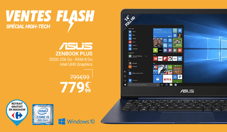 Ventes Flash Spécial High-Tech !