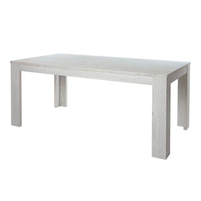 Tousmesmeubles Table de repas 185 cm - Oji