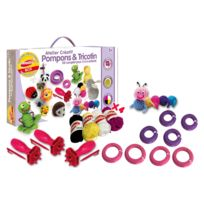 Joustra - Atelier créatif : Pompons & tricotin