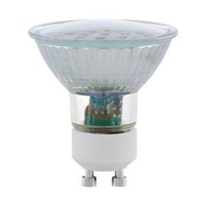 eglo lot de 2 ampoules led gu10 5w smd 400 lumens 3000k blanc chaud lighting 11537 pas. Black Bedroom Furniture Sets. Home Design Ideas