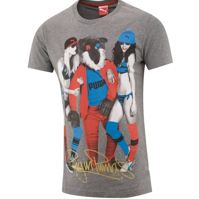 ec7604bde Puma - Tee-shirt Sexy Girls - pas cher Achat / Vente Tee shirt homme ...