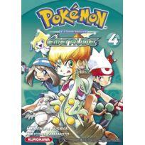 Kurokawa - Pokémon ; la grande aventure - Rouge Feu et Vert Feuille / Emeraude T.4