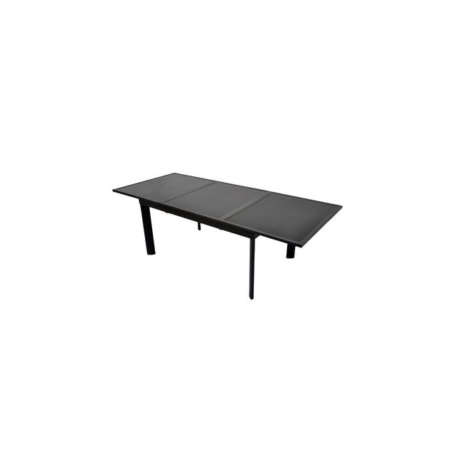 Résidence - Table de jardin rectangulaire Aluminium 160 ...