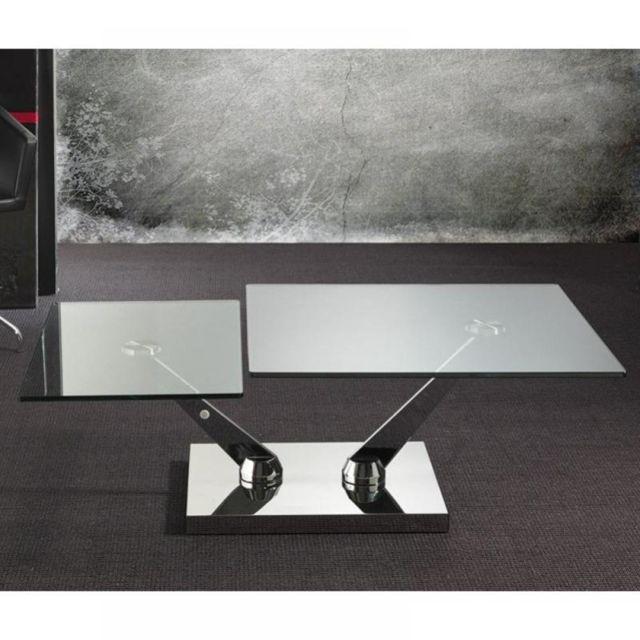 Inside 75 Table basse Braf design en verre