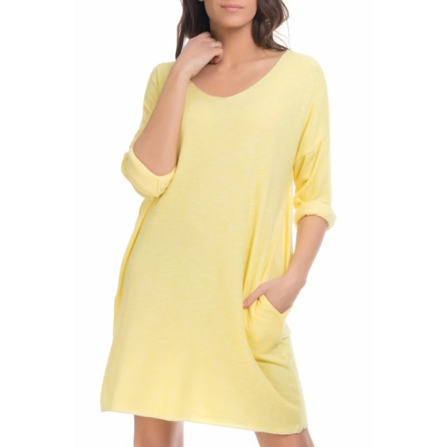 7213d6f19cb Tantra - Robe pull manches longues - pas cher Achat   Vente Robes ...