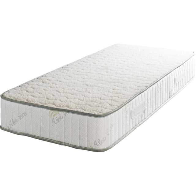 King Of Dreams Super 100x200 Matelas Mousse Poli Lattex - 23 cm+ Oreiller à valeur 89