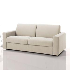 marque generique canap convertible ouverture express en tissu d houssable priska beige. Black Bedroom Furniture Sets. Home Design Ideas