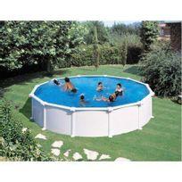 Gre Pools - Kit piscine hors sol acier ronde Atlantis