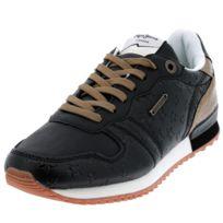 Pepe Jeans - Chaussures mode ville Verona noir lady Noir 58368 - pas ... 4c87155a8daa