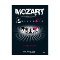 Paul Beuscher - Mozart L'opera Rock Piano Voix et Accords tous instruments