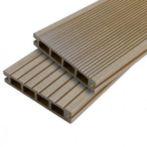 mccover lame terrasse bois composite alv olaire dual pas cher achat vente mat riel de pose. Black Bedroom Furniture Sets. Home Design Ideas